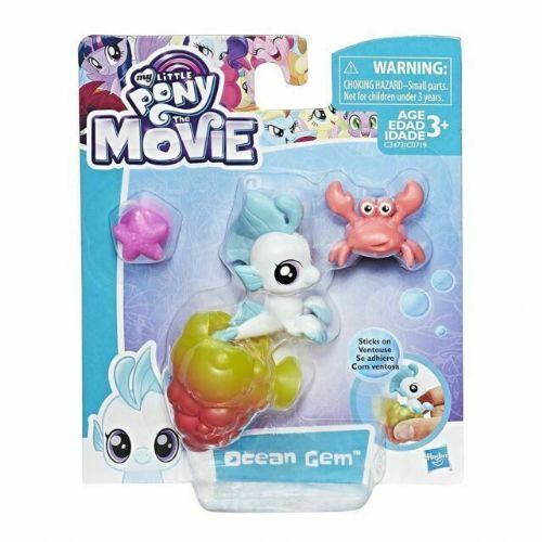 My Little Pony Hasbro The Movie Baby Sea pony Ocean Gem